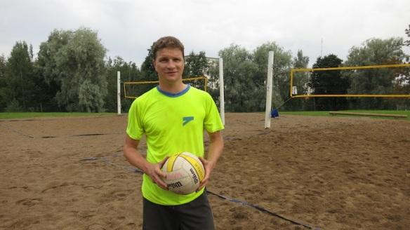 Esa Kaarakainen voitti beach volley turnauksen 22.8.2012