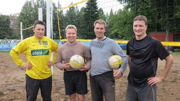 beach volley keskareiden finalistit, Kuopio 2012