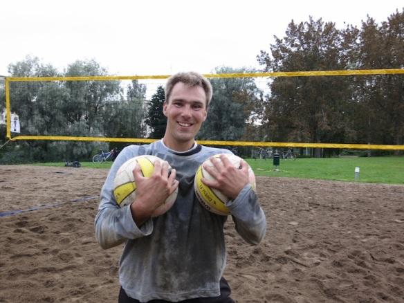 Pasi Pitkänen beach volley -turnaus keskareiden voittaja 2012