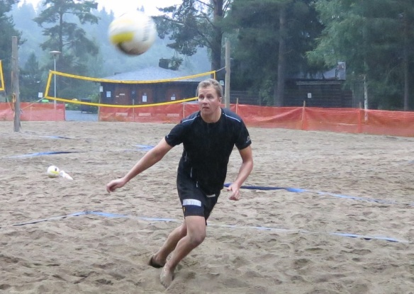 beach volley turnaus Tuomo Rissanen