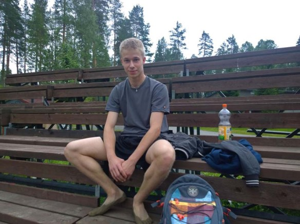 Beach volley-pelaaja Janne Nyyssönen